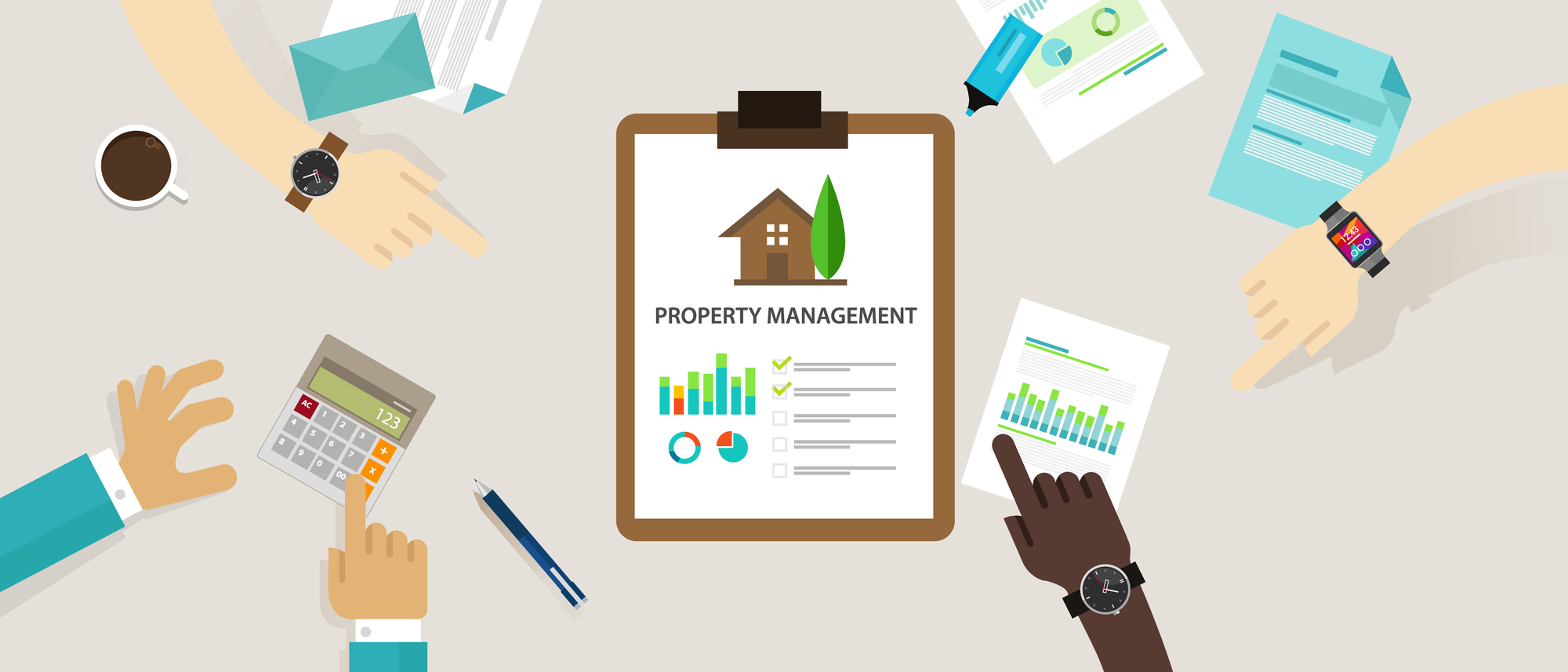 Difference Between Residential and Commercial Property Management